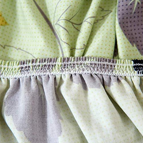 Omabeta Sofa Protector, Soft Sofa Cover Set Sofa Chair Schonbezüge rutschfest Knitterschutz Sofa Chair Cover Protect für Sessel(Single seat 90-140cm)