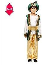 Disfraz de Halloween para niños Mascarada Príncipe indio Traje árabe Rey Aladdin Egipto Príncipe,L