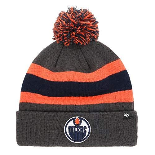 47 Brand NHL Edmonton Oilers Breakaway '47 Cuff Knit Mütze