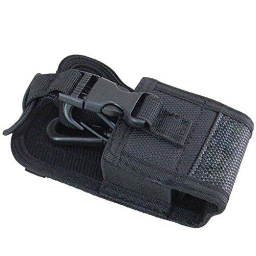 Busirde Talkie Walkie Sac & Case Holder MSC-20D Nylon Carry Case pour Kenwood BaoFeng UV-5R UV-5RA UV-5RB UV 5RC BF-888S UV-B6 UV-B5