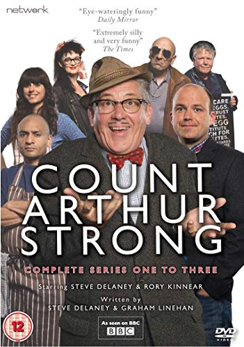Count Arthur Strong: The Complete Series 1-3 [DVD] [UK Import]