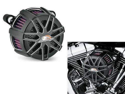 Luftfilter-Kit Extreme, schwarz Eagle Screamin Harley Davidson Motorräder
