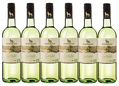 Winzergenossenschaft Wolfenweiler Baden Wein aus ökologisch erzeugten Trauben Gutedel QW trocken (6 x 0,75L)