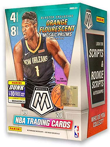 2019/20 Panini Mosaic NBA Basketball BLASTER box (32 cards)