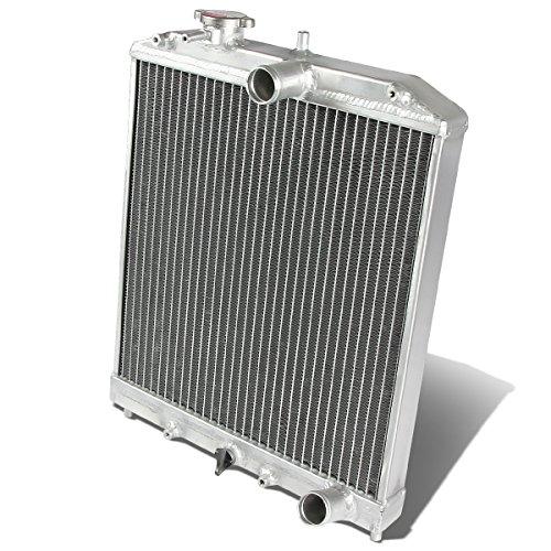 Full Aluminum 2-Row 42mm Cooling Radiator Compatible with Civic 92-00 | Del Sol 93-97 | Integra 94-01, Manual Transmission Models Only, EJ EK EG DB DC