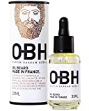 Il Miglior Balsamo Olio da Barba di Altissima Qualità Completamente Naturale per Uomo OBH ® ● Crescita Eroica della Barba e Cura Perfetta direttamente dalla Natura ● Prodotto in Francia