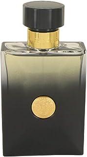 Versace Pour Homme Oud Noir por Versace Perfumes pulverizador (Tester) 3,4 onças por Homens