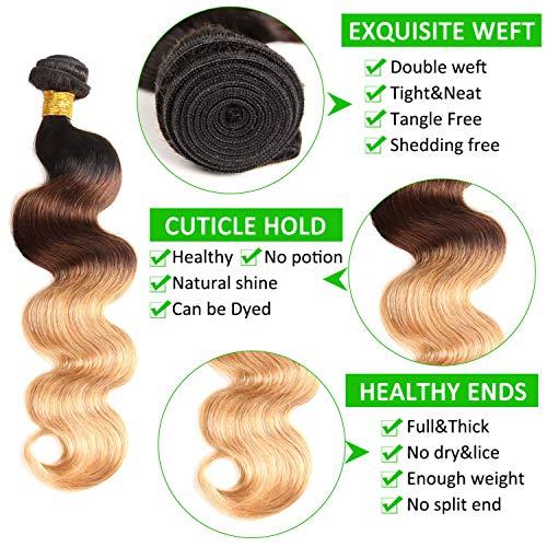 Cheap blonde human hair weave _image2
