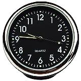 Txian, orologio al quarzo rotondo da auto, altamente preciso, piccolo orologio rotondo da bordo, decorazione perfetta per auto
