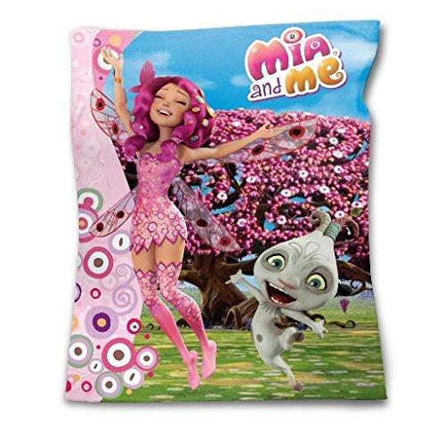 Mia et Moi Plaid Couverture Polaire 120 X 150 CM - Fleece Blanket NOUVEAUTÉ MIA and ME