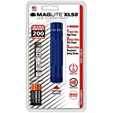 Maglite XL50 LED 3-Cell AAA Flashlight, Blue
