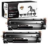 ONINO 79A CF279A Cartucho Tóner Compatible para HP Laserjet Pro M12 M12a M12w HP Laserjet Pro MFP-M26nw MFP-M26a MFP-M26 (2 Negro) …