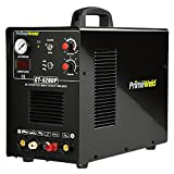 PrimeWeld Pilot Arc 50A Plasma Cutter, 200A TIG/Stick Welder Combo, Multipurpose Welding Machine for Home or Jobsite Use with 1/2-inch Clean Cut, Plasma Cutter, TIG Welder and Stick Welder, CT520DP