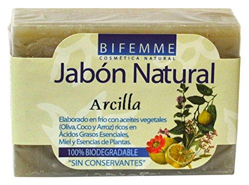 Bifemme Jabón arcilla - 100 gr