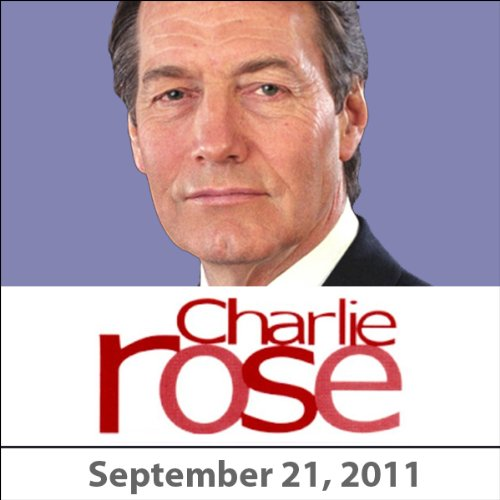 Charlie Rose: Recep Tayyip Erdogan and Ethar El-Katatney, September 21, 2011 audiobook cover art