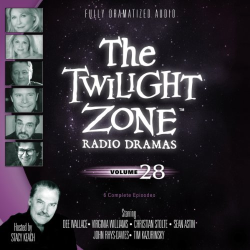 The Twilight Zone Radio Dramas, Volume 28 audiobook cover art