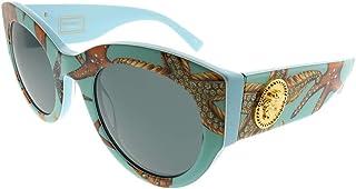 فيرساتشي نظارة شمسية للنساء ,دائري ,رمادي ,VE4353 528487 51