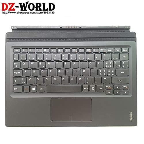 Original Mini Base Teclado portátil Suizo con Panel táctil Palmrest para Lenovo Ideapad Miix 700-12Isk Tablet 5N20K07180