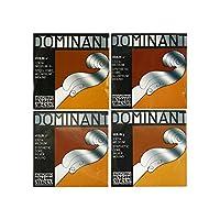 Thomastik Dominant 1/4分数バイオリン弦セット E線スチール・アルミ/ボールエンド