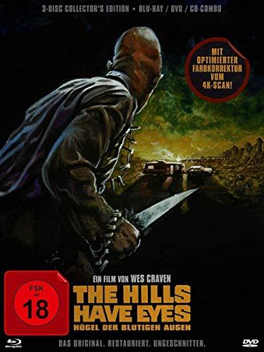 The Hills Have Eyes - Hügel der blutigen Augen - Limited Collector's Edition (+ DVD) (+ CD) [Blu-ray]