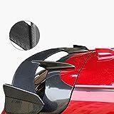 JC SPORTLINE Carbon Fiber Rear Window Roof Spoiler fits for Mazda 3 Axela Hatchback 4Door 2014-2019 Window Spoiler (Carbon Fiber)