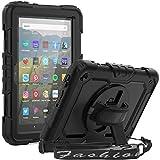 SEYMCY Case for Kindle Fire HD 8 Tablet, Fire HD 8 Plus