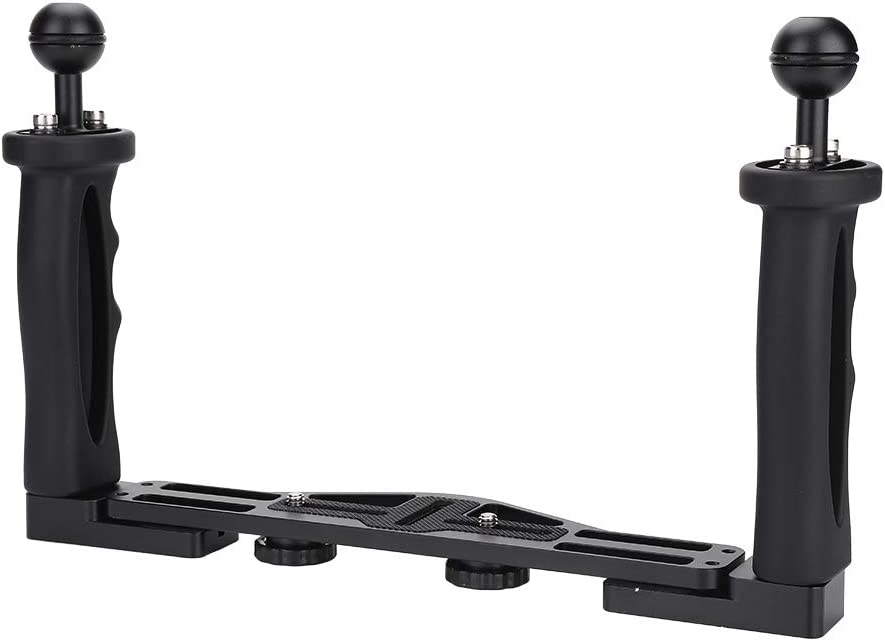 Camera Dual Handle Grip - Challenge the lowest price List price Tray Grips with Aluminum f