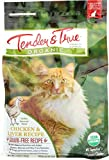 Tender & True Organic Chicken & Liver Recipe Cat Food, 3 lb