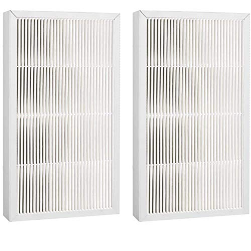 """Fette Filter - Air Cleaning HEPA Filter, 9"""" x 15"""" Compatible With 3M Filtrete FAPF02 & FAPF024 for model # FAP01-RMS, FAP02-RMS, FAP02 - Pack of 2"""