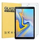 Fotech 2 Stück Bildschirmschutz für Samsung Galaxy Tab A 10.5 SM-T590/T595, 9H Festigkeit, 2.5D, Bildschirmfolie Schutzglas Bildschirmschutz Für Samsung Galaxy Tab A SM-T590/SM-T595 10.5 Zoll 2018