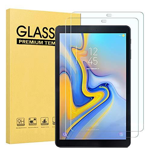 Fotech 2 Stück Displayschutz für Samsung Galaxy Tab A 10.5 SM-T590/T595, 9H Härte, 2.5D, Displayfolie Schutzglas Displayschutz Für Samsung Galaxy Tab A SM-T590/SM-T595 10.5 Zoll 2018