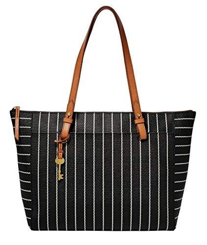 Fossil Damen Handtasche Tasche Shopper Henkeltasche Rachel Tote Schwarz ZB7446