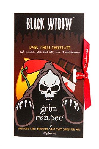 Grim Reaper – Black Widow – Chili Chocolate – 100g