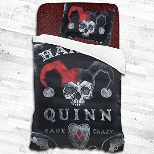 51pTKLDKv-L Harley Quinn Bed Sets