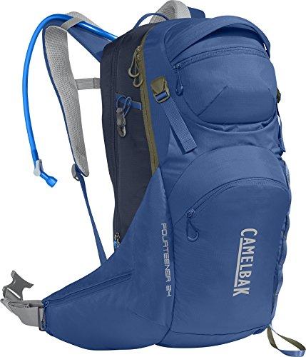 CamelBak Fourteener Macuto de Senderismo, Hombre, Azul (Galaxy Blue / Navy Blazer), 24