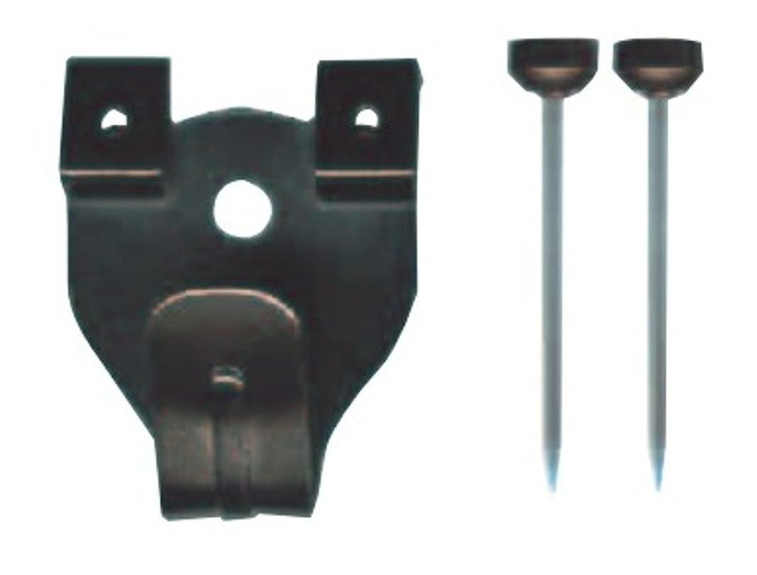 定義するヒューマニスティックモネ福井金属工芸製 額吊り用フック 中 二つ針 5個セット