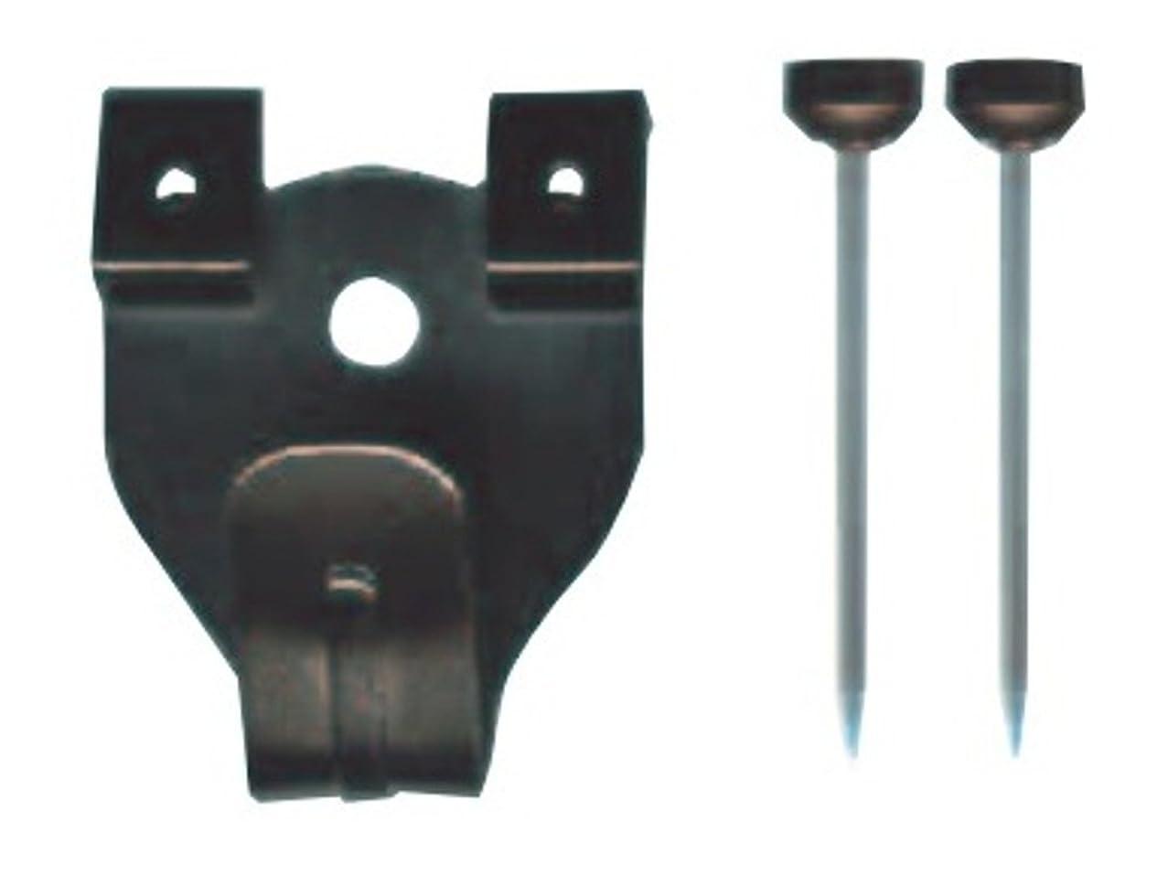 家禽子猫ロバ福井金属工芸製 額吊り用フック 中 二つ針 5個セット