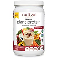 Nutiva Organic Plant Protein Superfood for Shakes and Smoothies