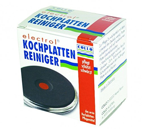 Unbekannt Kochplatten-Reiniger Collo electrol 20ml für Schwarze Elektro-Massekochplatten