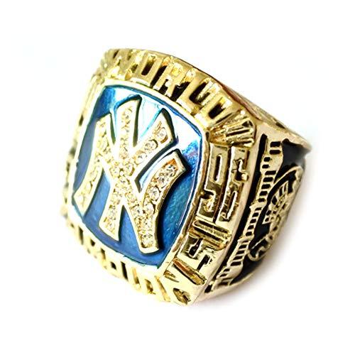 Meisterschaftsringe 1996 Baseball Golden Championship Fan Championship Ring für Fans Männer Frauen Valentinstag,with Box,11
