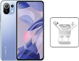 Xiaomi 11 Lite 5G NE Dual SIM Amoled Display Bubblegum Blue 8GB RAM 256GB + Mi True Wireless Earphones 2 Basic