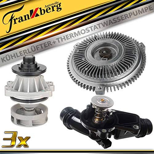 Viscokupplung+Thermostat+Wasserpumpe für 3er E36 E46 5er E39 E60 E61 7er E38 E65 X3 E83 X5 E53 Z3 E36 Z4 E85 1998-2010 11527505302