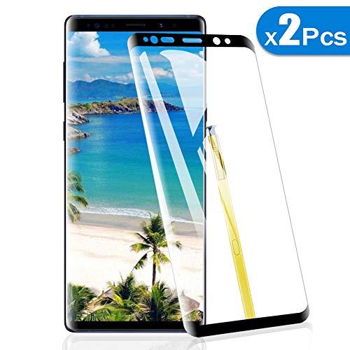 2 Pack Amonke Protector de Pantalla para Samsung Galaxy Note