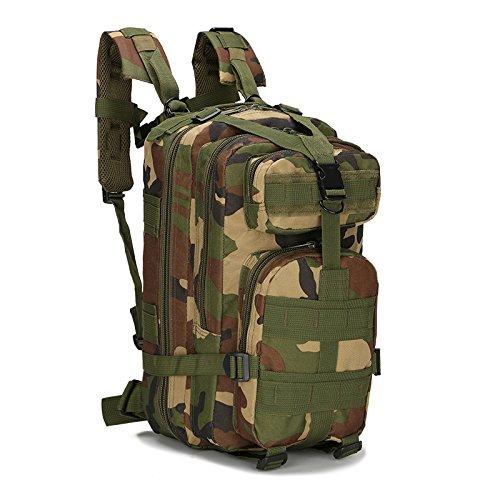 N\A Assault Trekking Pack, Randonnée Trekking Sac À Dos Sports, Fit Outdoor Travel pour Une Utilisation Quotidienne Voyager Randonnée Camping Et Escalade Sac À Dos