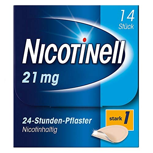 NICOTINELL 21 mg/24-Stunden-Pflaster 52,5mg 14 St Pflaster transdermal