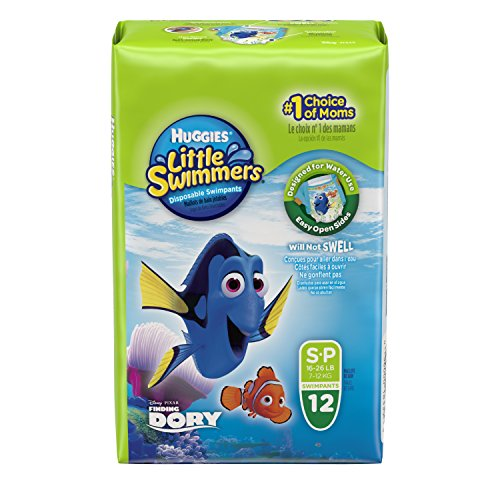 NIP Huggies Little Swimmers Schwimmwindeln Größe 3-4 = 7-15 KG bunt Sortiert
