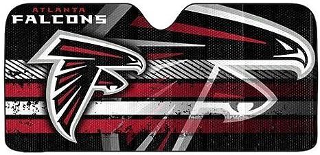 Infinity Stock NFL Auto Sun Shade Universal Size Fit 58 x 27 Windshield Car Truck SUV Sunshade Interior Accessories Atlanta Falcons