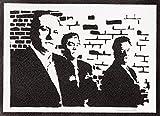 Die Sopranos Poster Plakat Handmade Graffiti Street Art -
