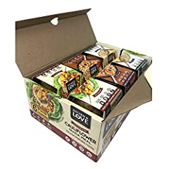 INCLUDES: 2 Artichoke & Roasted Pepper Quinoa Quick Meals, 2 Grilled Vegetable & Herbs Farro Quick Meals, 2 Peruvian Vegetable Ceviche Cauliflower Quick Meals PLANT-BASED: Vegan. Nut-Free. No Sugar Added. No Artificial Flavors or Colors. Low Glycemic...
