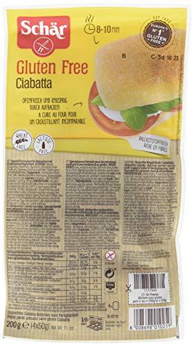 Schär Petit Pain Ciabatta sans gluten 200 g